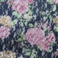 Quality Lace-printed Calico Fabric with 55 to 57 Inches Width, Made of Nylon Material wholesale