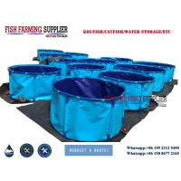 Cheap China PVC Collapsible Indoor Water Tanks Fish Farm for sale