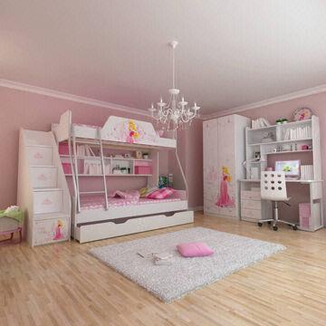 Cheap E0 Grade Bunk Bed Kids 39 Bedroom Set Children 39 S Furniture Wooden Bedroom Princess Disney
