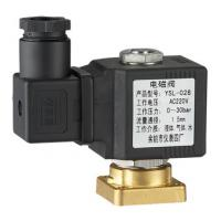 Quality Low Pressure 2 Way Plate Miniature Solenoid Valve Normally Closed Brass 12V 24VDC wholesale