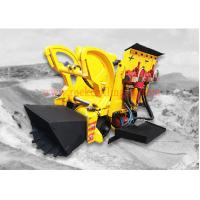 Cheap Pneumatic Air Rock Loading Machine 0.26 M3 Bucket Volume With Air Motor for sale