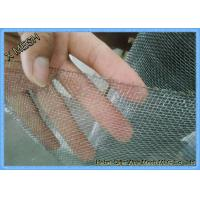Quality Plain Weave 316 Stainless Steel Wire Mesh / Grid Mesh Square Hole Fit Sieving wholesale