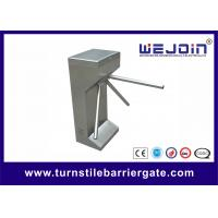Buy cheap security system waist height tripod turnstile, counter turnstile gates, from wholesalers