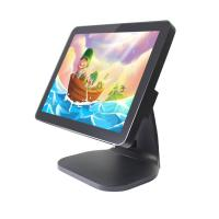 Quality 15 Inch Flat Pos System Touch Screen Monitor , Business Touch Screen Cash Register wholesale