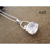 Quality OEM / ODM shiny and clean silver gemstone pendant with competitive price wholesale