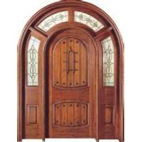 China China painting wooden door for interior furniture Wooden grain modern exterior sliding glass doors made in China on sale