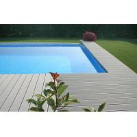 China Waterproof WPC Decking Flooring Anti-slip For Pool Decoration on sale