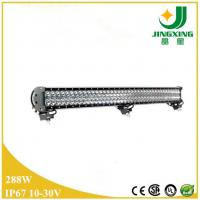 Quality FACTORY SUPPLY!! 44.5 288W waterproof double row led light bar for offroad truck wholesale