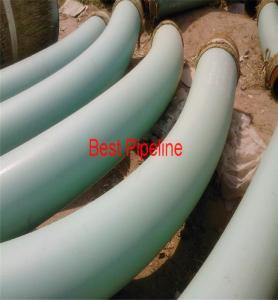 Quality AWWA C213 DIN 30678 Polythylene Coating Pipe / Anti Corrosion Steel Pipe wholesale