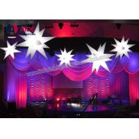 Quality Balloon Ceiling Light LED Inflatable Star , Waterproof Inflatable Party Decoration wholesale