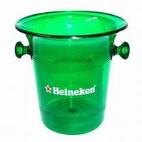 Cheap Ice Bucket, Customized Logos and Colors are Accepted for sale