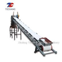 China Flat / Inclined Rubber Belt Conveyor Machine With Corrosion Resistance on sale