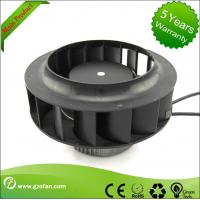 Quality Backward Curved EC Motor Fan / Centrifugal Exhaust Fan Blower High Volume wholesale