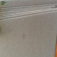 China Promotional price waste paper grey paper board for notebook covers on sale