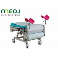 China Multiuse Gynecological Examination Table Electric Two Sections With Stirrups on sale