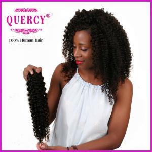 China 100% unprocessed virgin human hair, Malaysian virgin curly hair Weave on sale