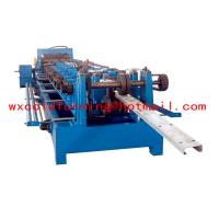 Quality High Frequency PLC CZ Purlin Roll Forming Machine With Gear Box Transmission wholesale