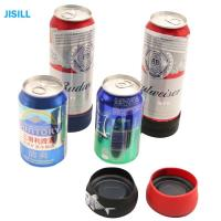 Quality Silicone Band Fixation Plastic Ice Chill Puck Cooler Mini Cold Packs For Beer Can Cooling wholesale