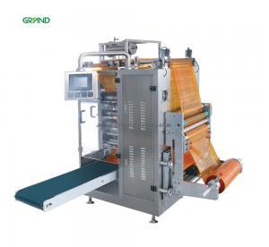 China Four Side Sachet Filling Machine , Multi Line Liquid Sachet Packaging Machine Y500E on sale