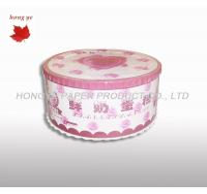 China Cardboard Birthday Cake Boxes on sale