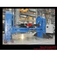 Cheap Hydraulic Double Column Rotary Welding Table , Tank Turning Table for Welding for sale