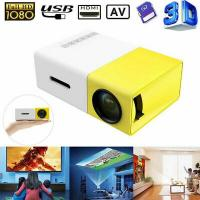 China Wholesale High Quality 1080P Home Theater Cinema USB HDMI AV SD Mini Portable HD LED Projector TY Made In China Factory for sale
