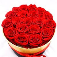 Quality Everlasting Luxury Roses In A Box For Wedding And Home Decoration wholesale