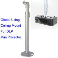 China Aluminum Alloy Universal Ceiling Mount For Mini DLP LED Projector 30 to 60cm Adjustable on sale