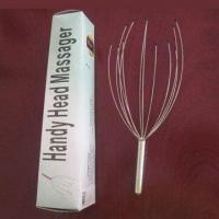 China Head Massager with Steel Wire and Aluminum Handle on sale