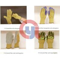 Quality Customized Color Anti Cut Gloves Aramid Materials For Rescue And Relief Work wholesale