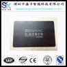 Buy cheap Stainless Steel Black Matt Metal Business Card from wholesalers