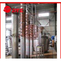 Quality 500Gal Miniature Commercial Distillery Equipment 3mm Thickness wholesale