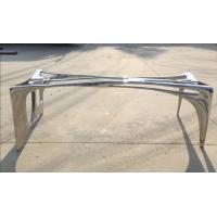 Quality Outdoor Stainless Steel Garden Statues Polished Surface Abstract Metal Art wholesale