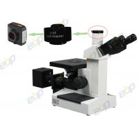 Quality Metallurgical Trinocular Inverted Microscope 100X - 1000X With 6V20W Halogen Bulb wholesale
