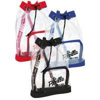 China Small Clear Plastic Drawstring Backpack , Printed Drawstring Bags For Promotional Gifts on sale