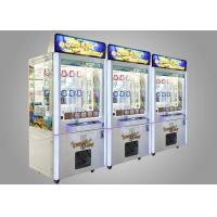 Original Colorful Prize Game Machine For Game Center , Crane Grabber Machine
