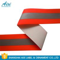 Quality TID T / C Silver Orange Washable High Visibility Reflective Tape For Uniform wholesale