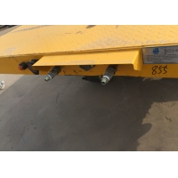 Quality 500mm Beam Flat bed Full Trailer With Front Cargo Truck wholesale