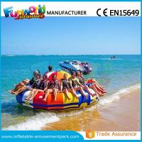 Quality 0.9mm PVC Inflatable Water Parks Inflatable Disco Boat Saturn 1 Years Warranty wholesale