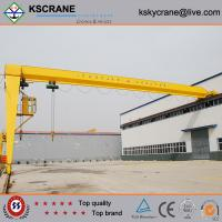 Quality BMH Model Hook Gantry Crane With One Side wholesale