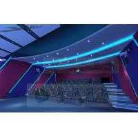 Quality Attractive Theme 5D Movie Theater With 7.1 Audio System And Pipes wholesale