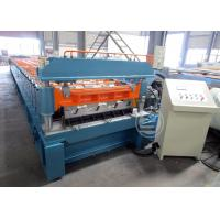 Quality Mexico Market Width1219mm Floor Deck Roll Forming Machine 440v / 60HZ wholesale