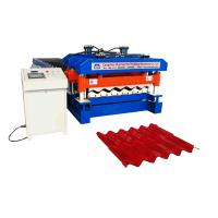 Buy cheap Ppgi / Gi Roof Tile Manufacturing Machine Material Width 1220mm 18 Rollers from wholesalers