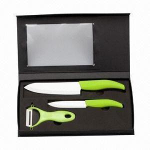 Quality Ceramic Knife Set/Ceramic Knives with Acrylic Holder wholesale