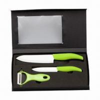 Cheap Ceramic Knife Set/Ceramic Knives with Acrylic Holder for sale
