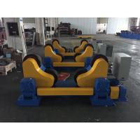 Quality Rubber Wheels Tank Turning Rollers For Pipe , Loading Maximum To 40 Ton wholesale
