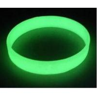Cheap glow in the dark silicone bracelet wristbands , Luminous silicone bracelets in for sale