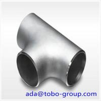 Cheap 1-48 inch SCH10-XXS A403 WP321 Stainless Steel Pipe Tee ISO9001 / ISO9000 for sale