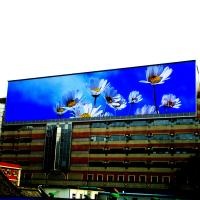 China Flexible SMD LED Screen , P10 Outdoor Billboard Full Color LED Display Waterproof IP65 on sale