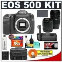 China Canon EOS 50D Digital SLR Camera Body + Canon BG-E2N Grip + Tamr on sale